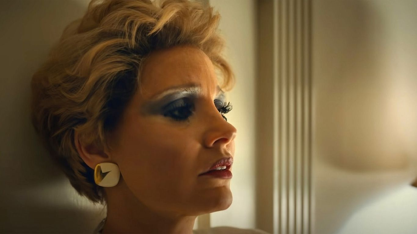 """New Indie Movies - Jessica Chastain in """"The Eyes of Tammy Faye."""""""