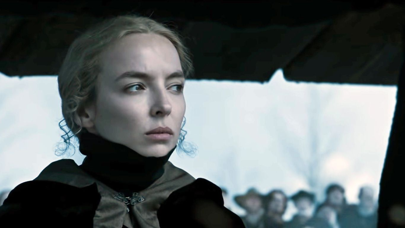 "New Indie Movies - Jodie Comer in ""The Last Duel."""