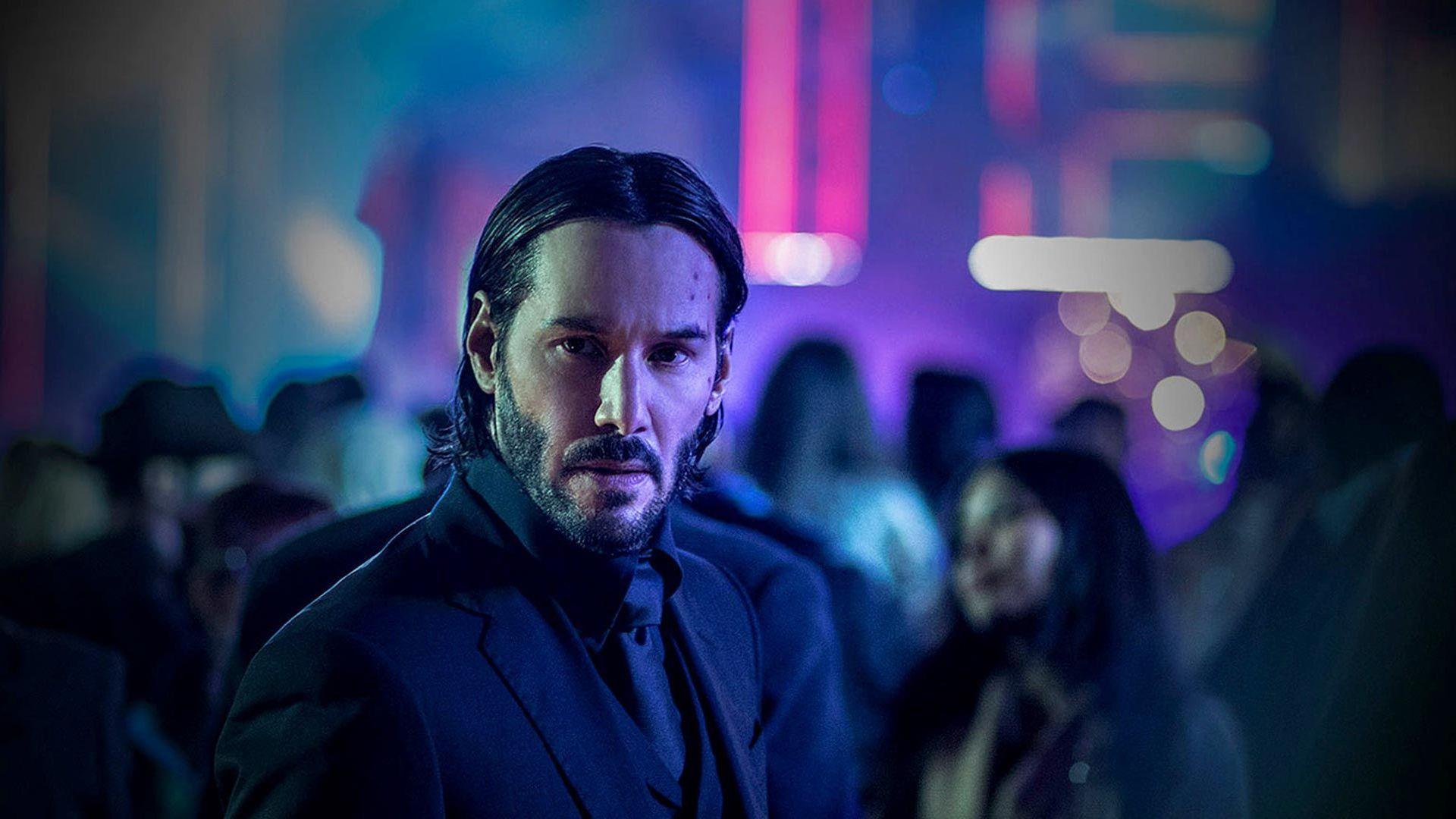 "Keanu Reeves in ""John Wick: Chapter 3 - Parabellum."""