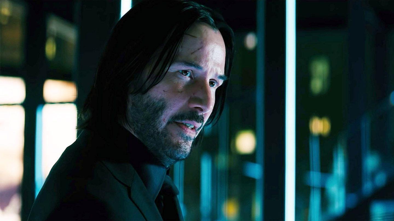"Keanu Reeves in ""John Wick: Chapter 3 – Parabellum."""