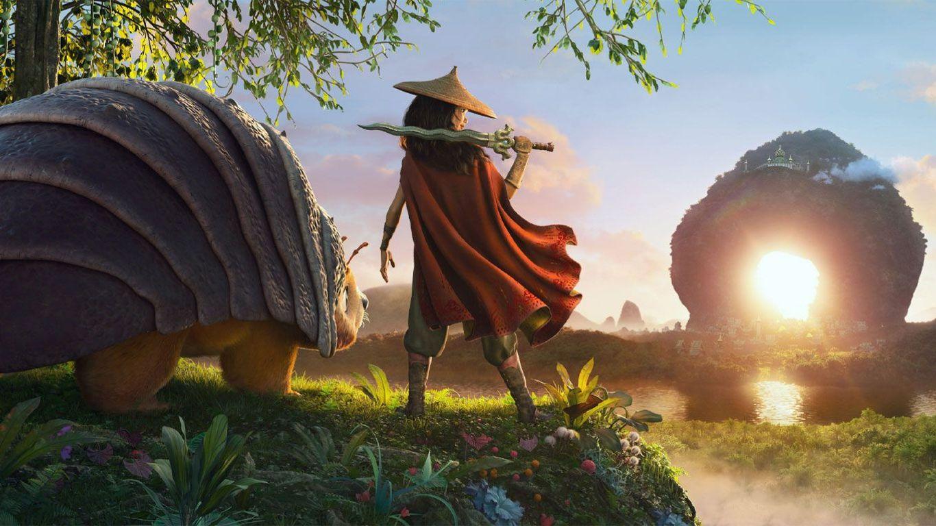 """Top Movies at Home - """"Raya and the Last Dragon."""""""