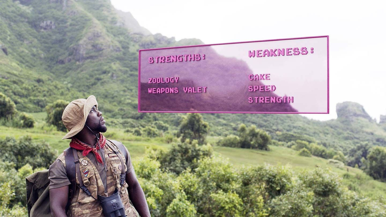 Kevin Hart Movies: Jumanji: Welcome to the Jungle