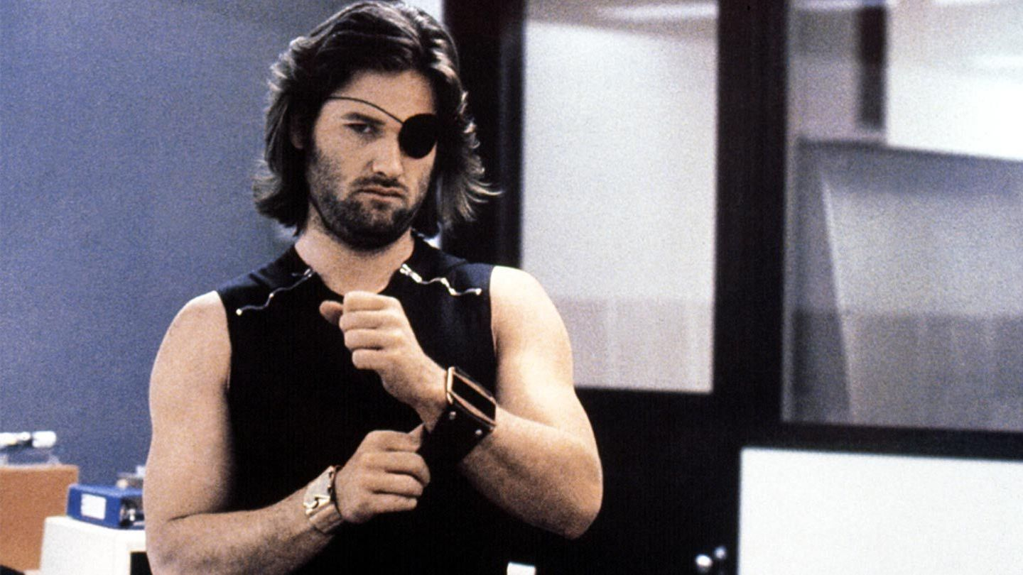 """Kurt Russell in """"Escape from New York."""""""