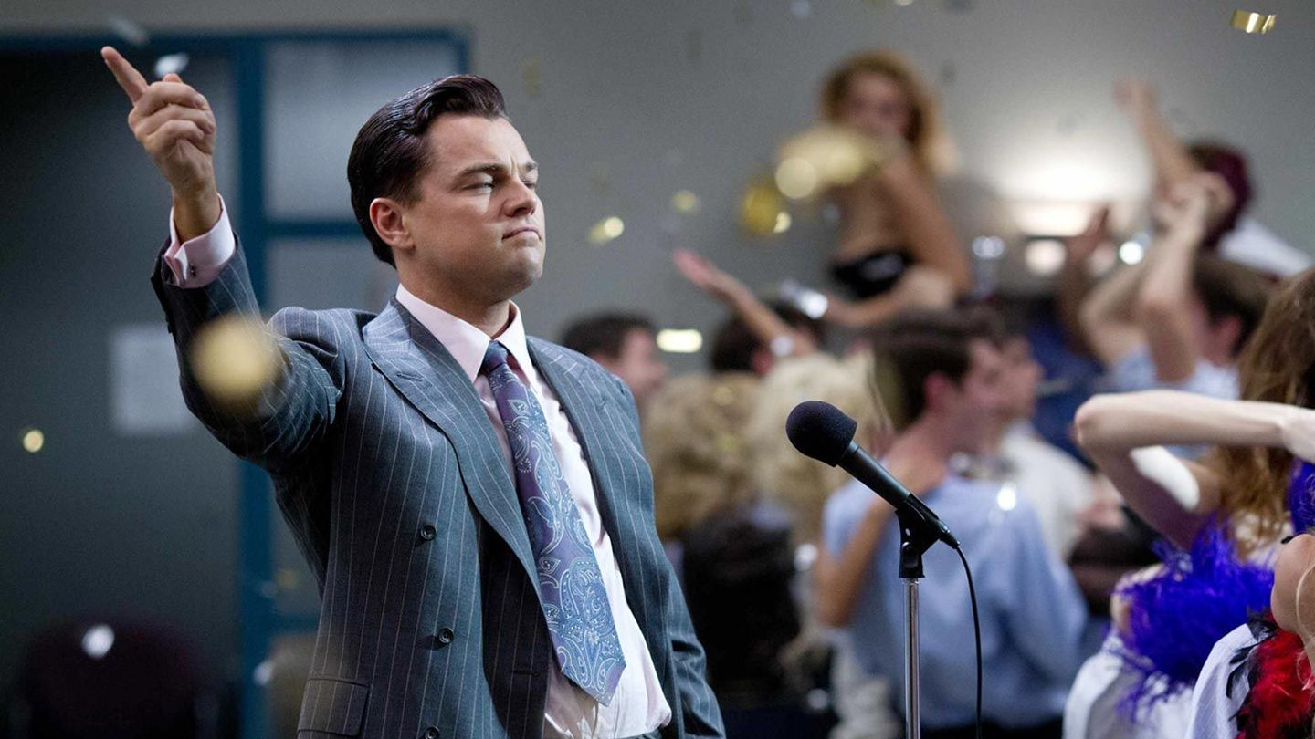 """Leonardo DiCaprio in """"The Wolf of Wall Street."""""""