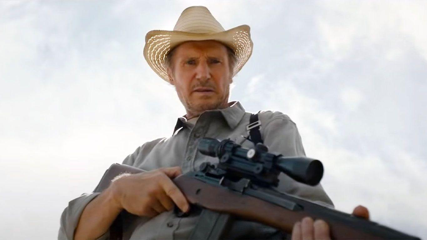 """Liam Neeson in """"The Marksman."""""""