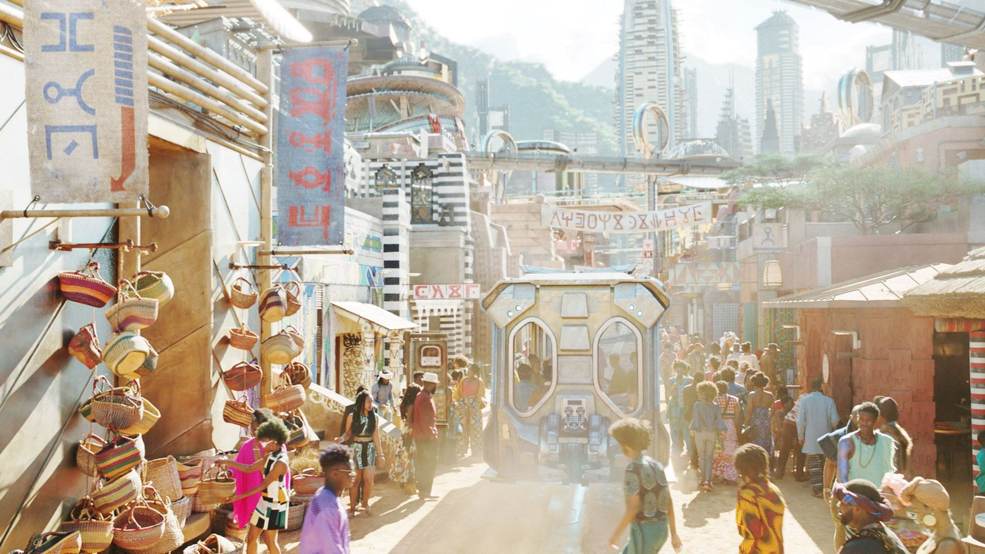 """Movie Locations - Wakanda from """"Black Panther."""""""