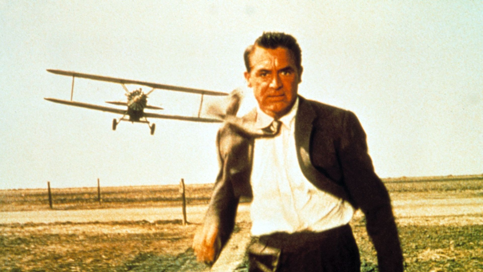 """James Bond Influences - Cary Grant in """"North by Northwest."""""""