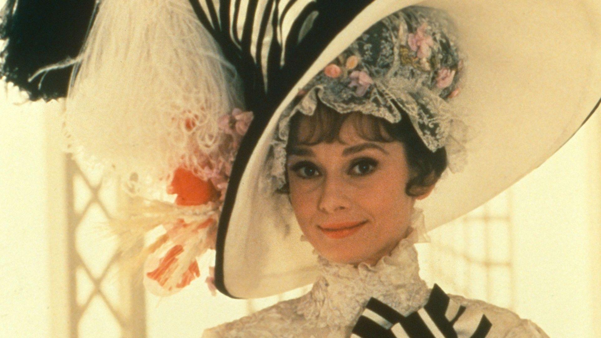 "Audrey Hepburn in ""My Fair Lady."""