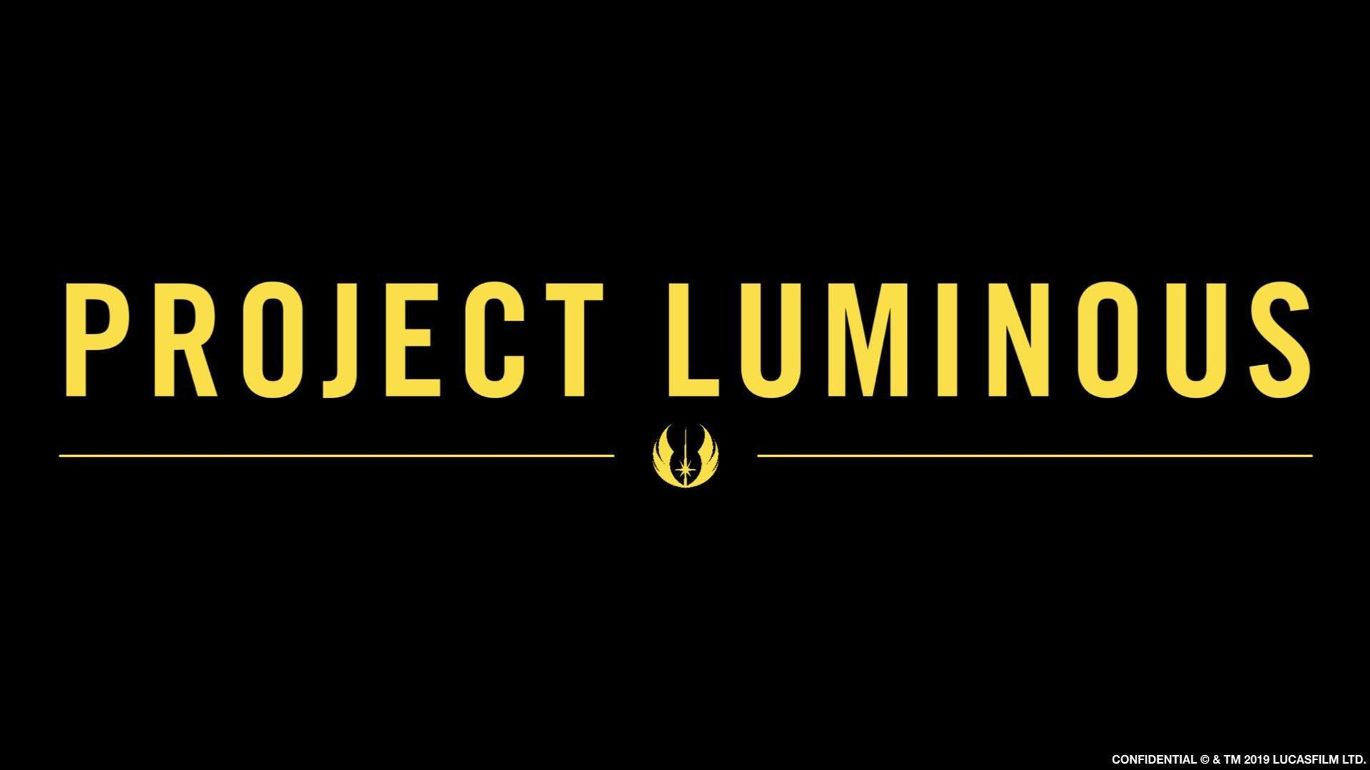 project luminous new start wars announcement banner