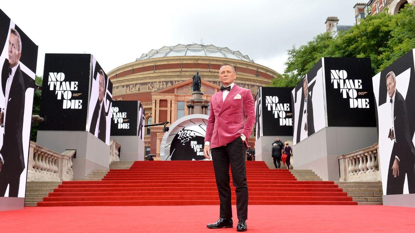 No Time to Die World Premiere Red Carpet - Daniel Craig