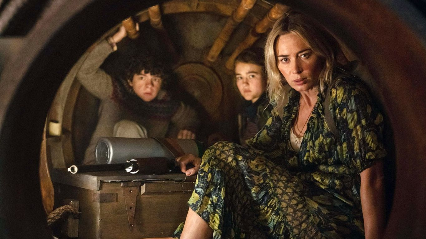 """Top Movies at Home - """"A Quiet Place Part II."""""""