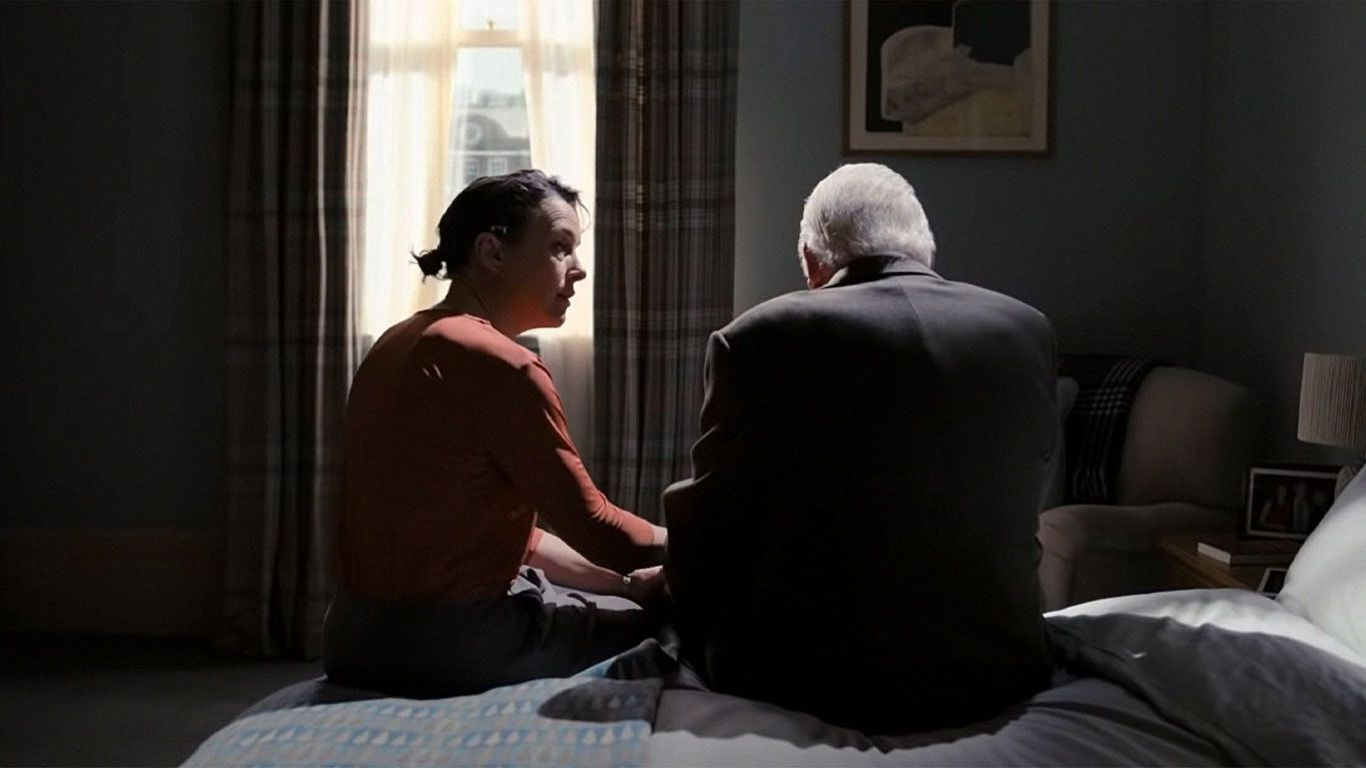 """Olivia Colman and Anthony Hopkins in """"The Father."""""""