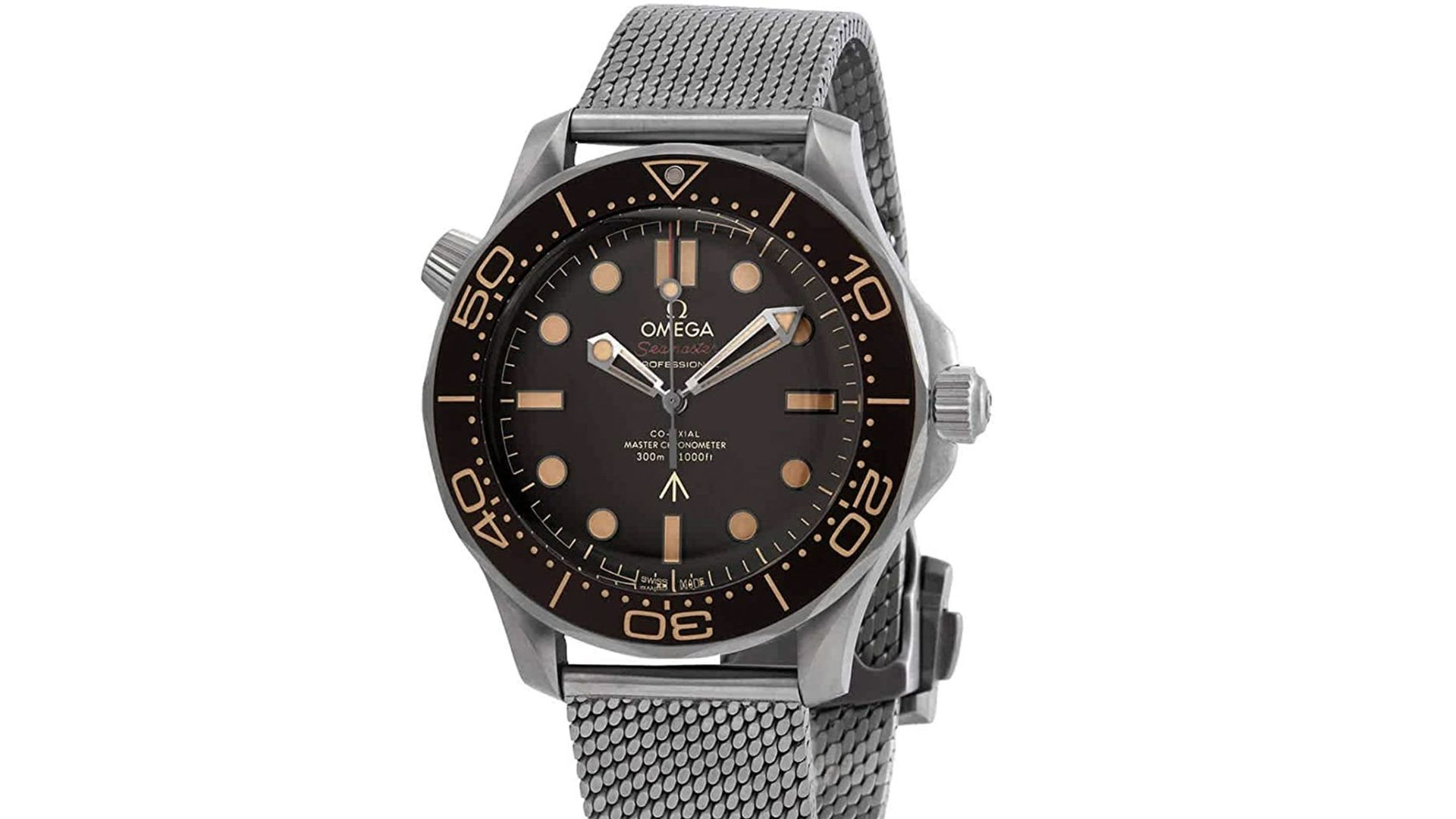 Special Edition 007 Omega Seamaster Men's Watch