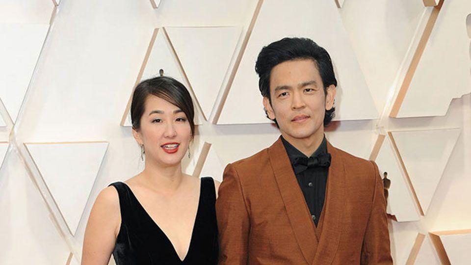 Kerri Higuchi & John Cho at the 92nd Academy Awards in Hollywood, CA.