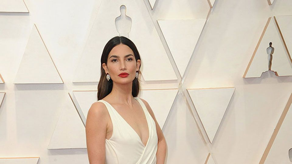 Lily Aldridge at the 92nd Academy Awards in Hollywood, CA.