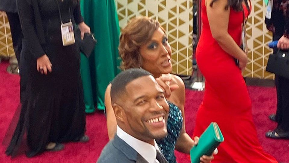 Michael Strahan at the 92nd Academy Awards in Hollywood, CA.