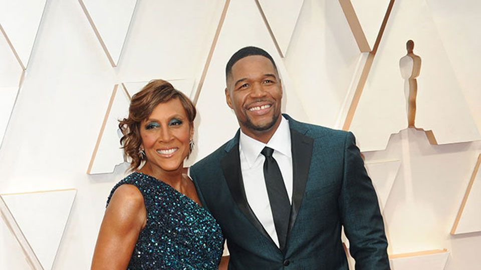 Robin Roberts & Michael Strahan at the 92nd Academy Awards in Hollywood, CA.