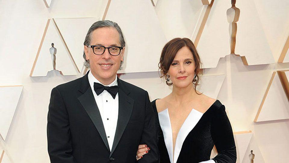 Rodrigo Prieto & Monica Prieto at the 92nd Academy Awards in Hollywood, CA.