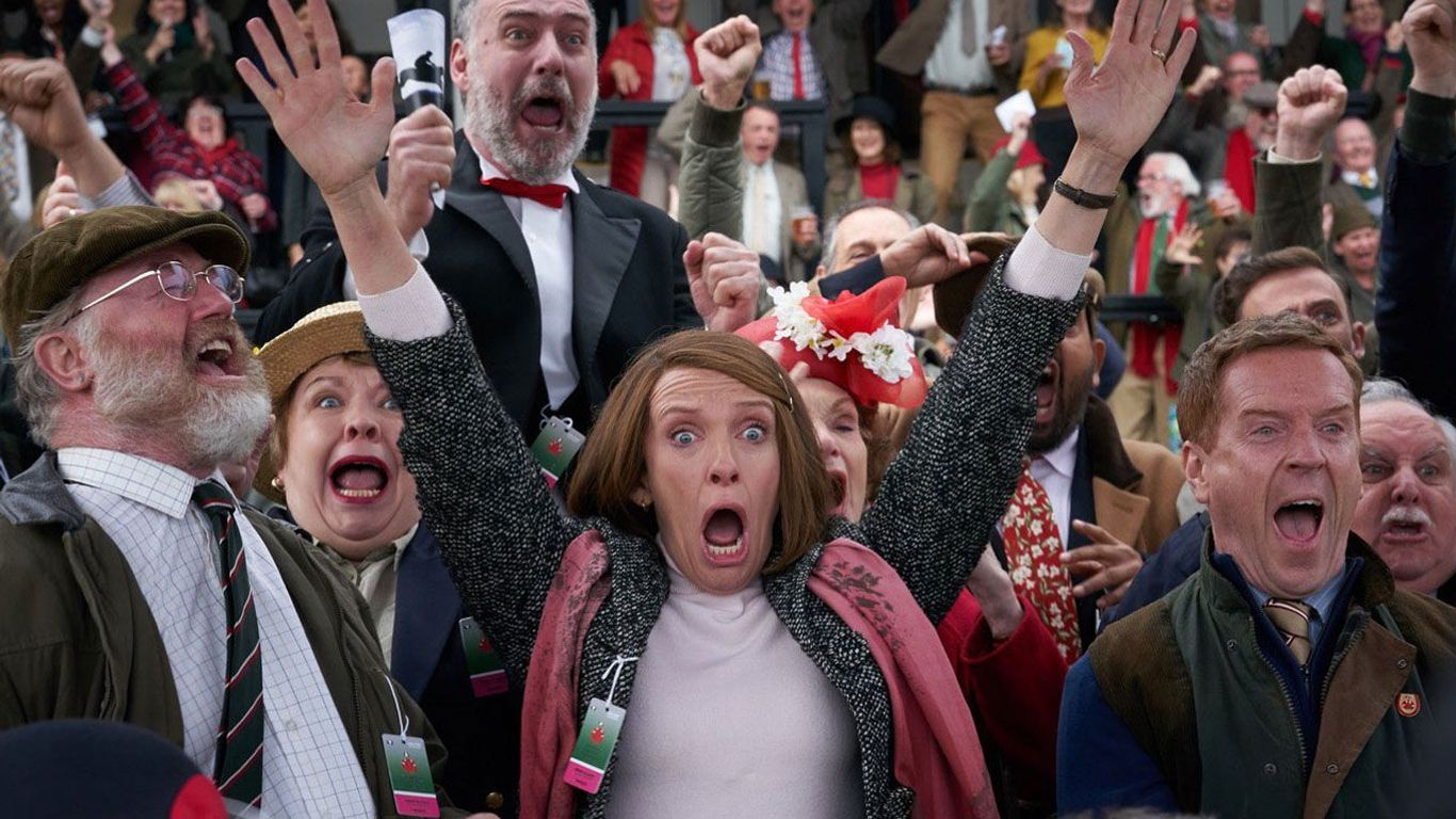 """New Indie Movies - Owen Teale, Toni Collette and Damian Lewis in """"Dream Horse."""""""