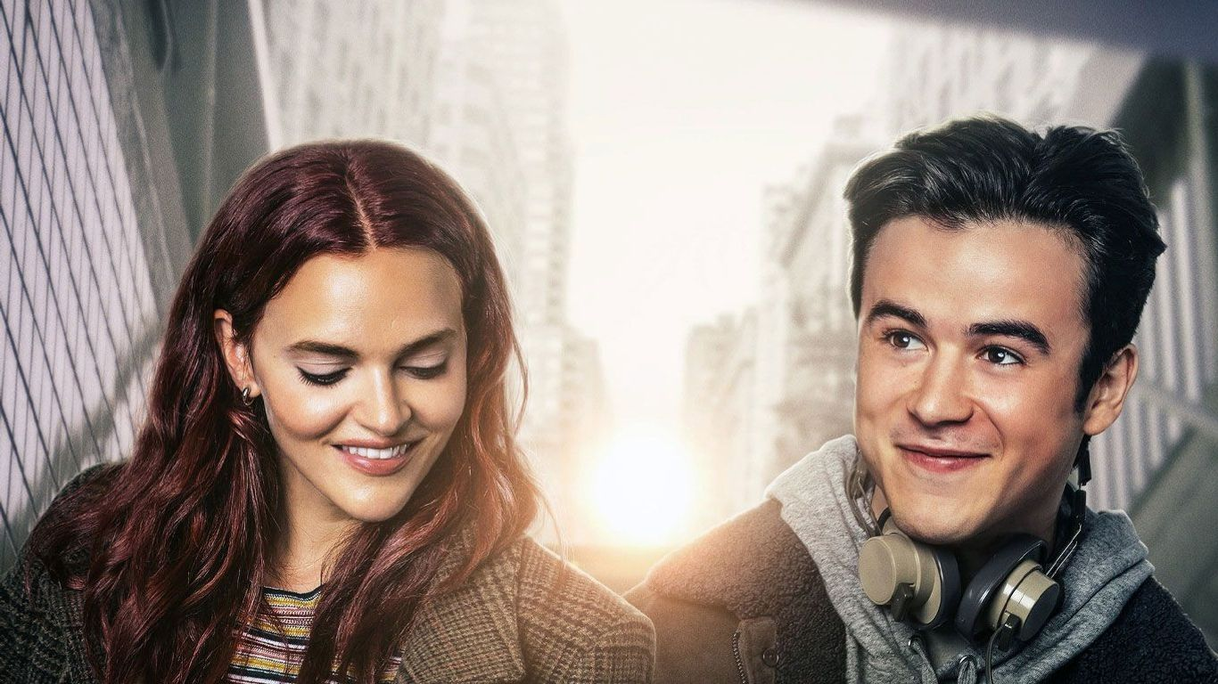 """Madeline Brewer, Keean Johnson in poster for """"The Ultimate Playlist of Noise."""""""