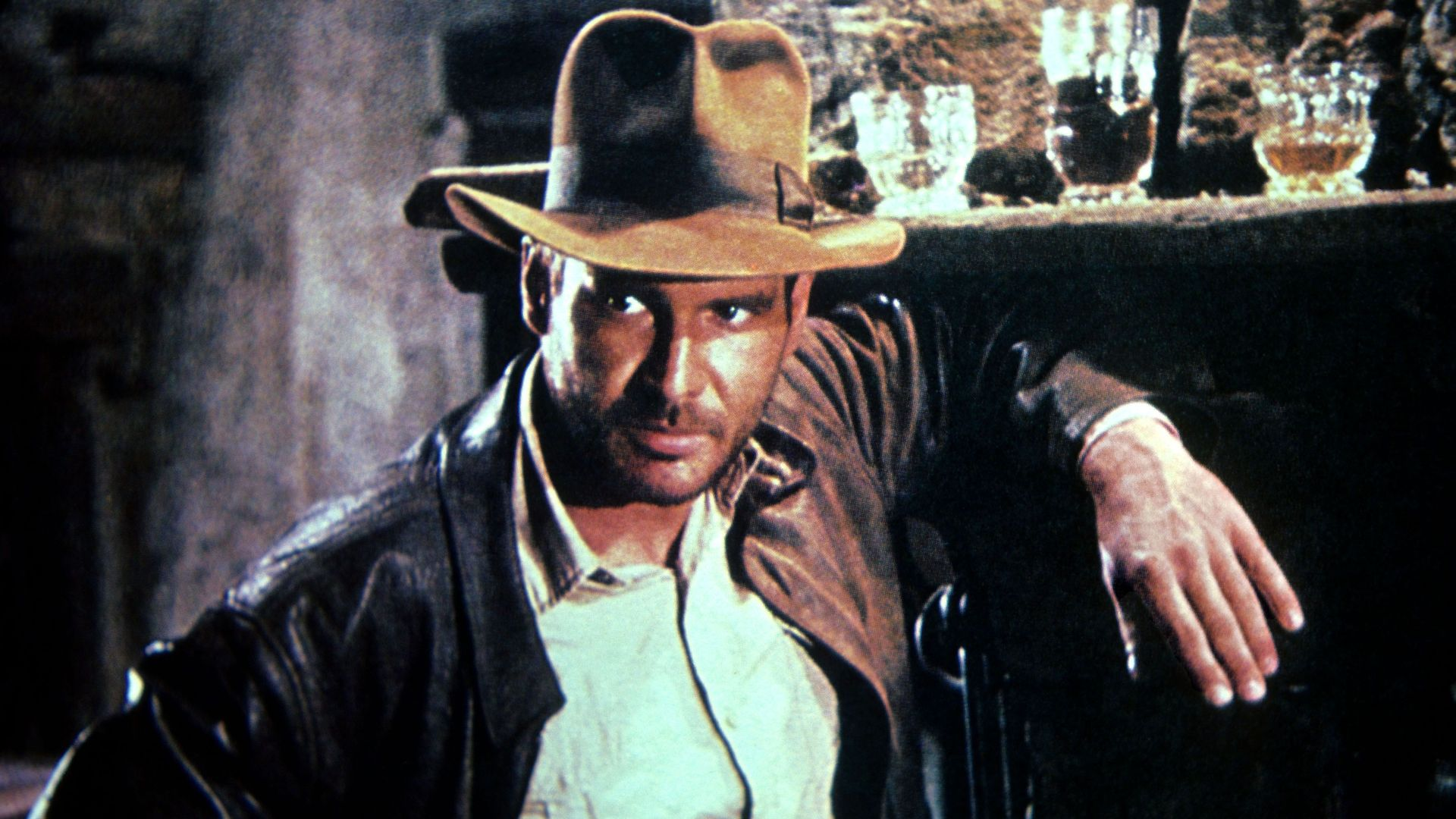 """Harrison Ford in """"Raiders of the Lost Ark."""""""