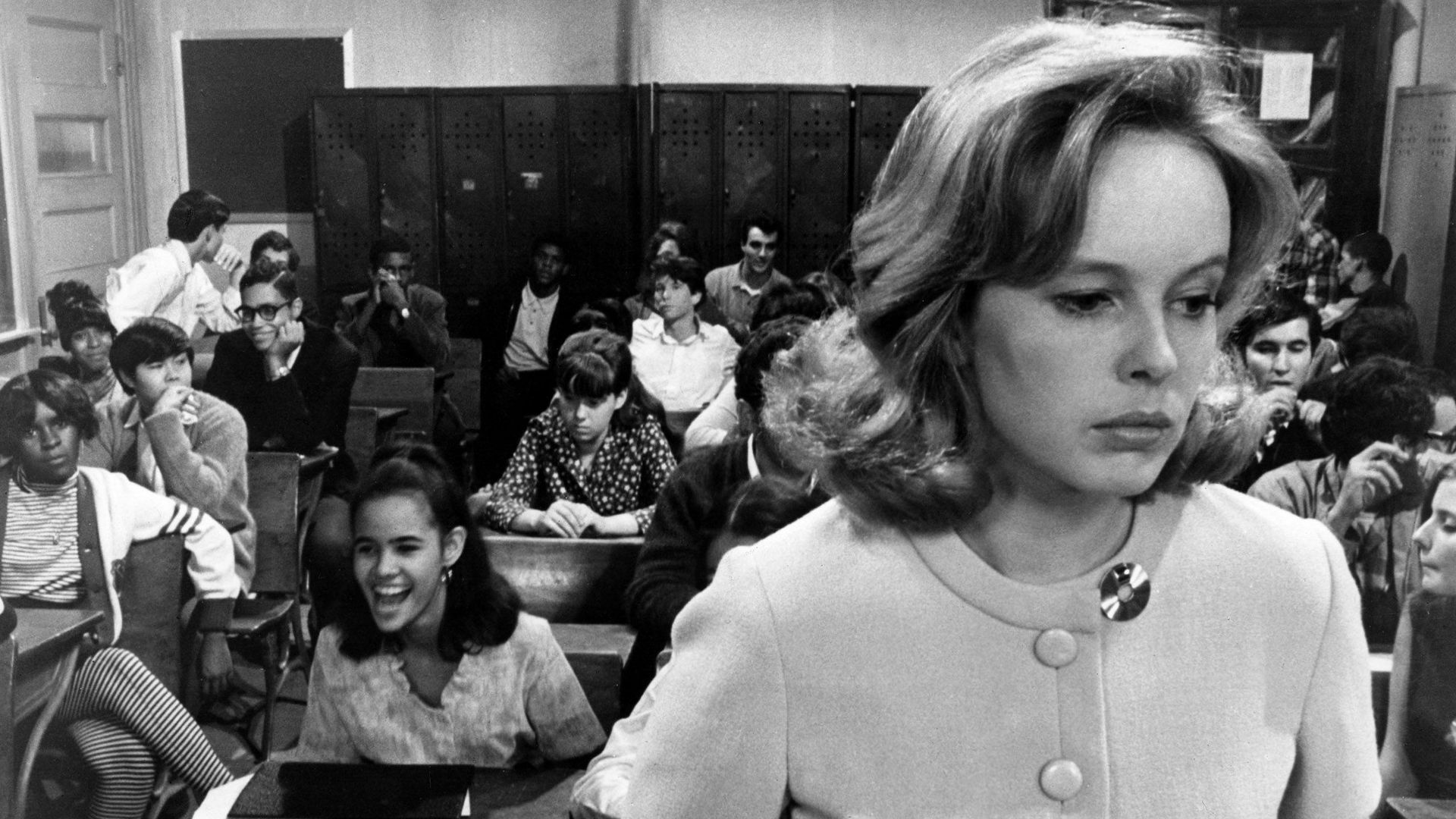 """Sandy Dennis in """"Up the Down Staircase."""""""
