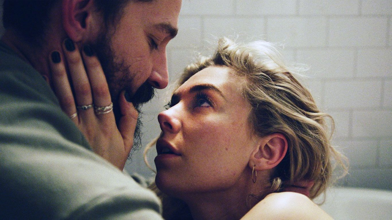 """Shia LaBeouf, Vanessa Kirby in """"Pieces of a Woman."""""""