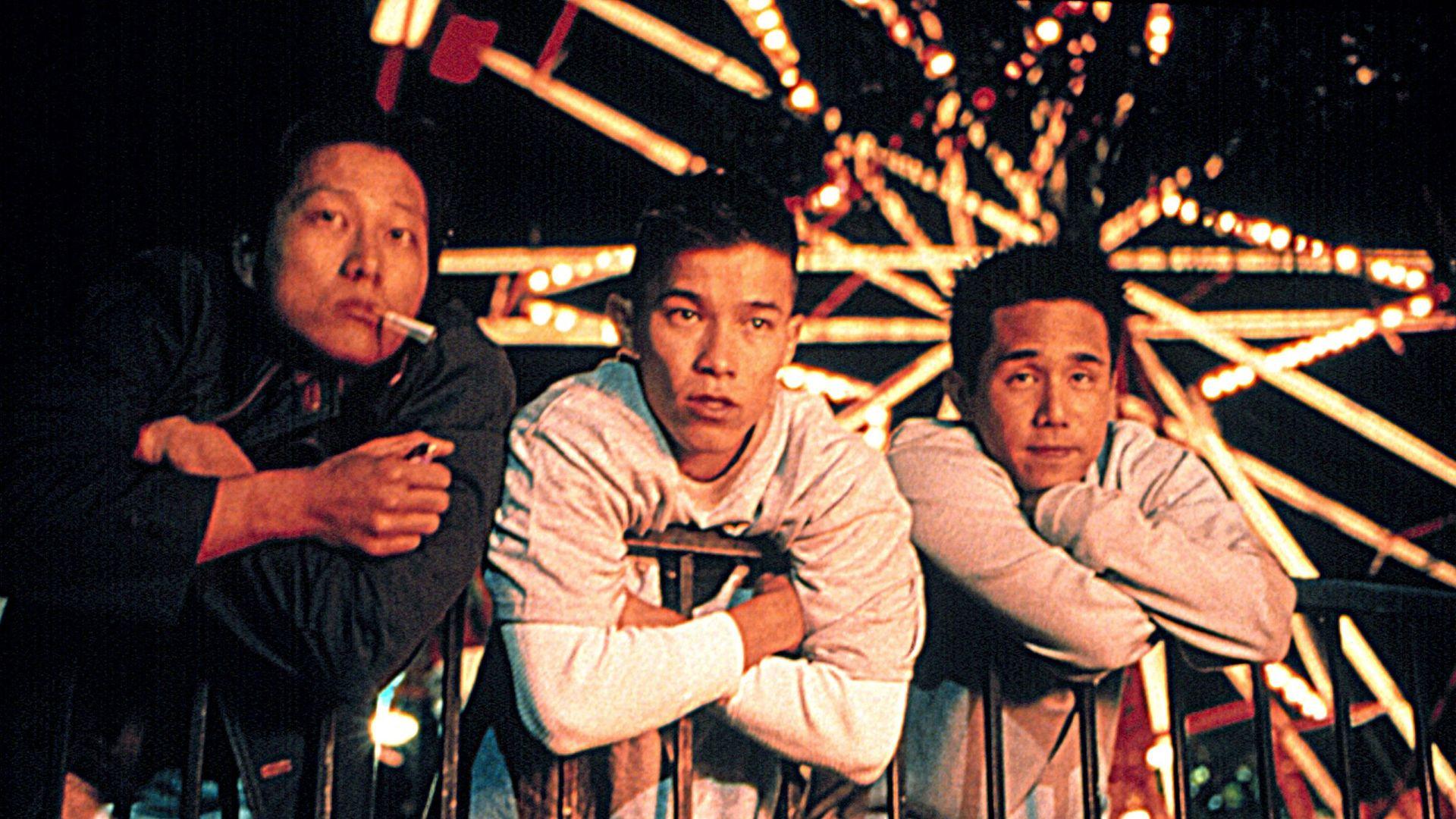 """Sung Kang, Jason Tobin, Parry Shen in """"Better Luck Tomorrow."""""""