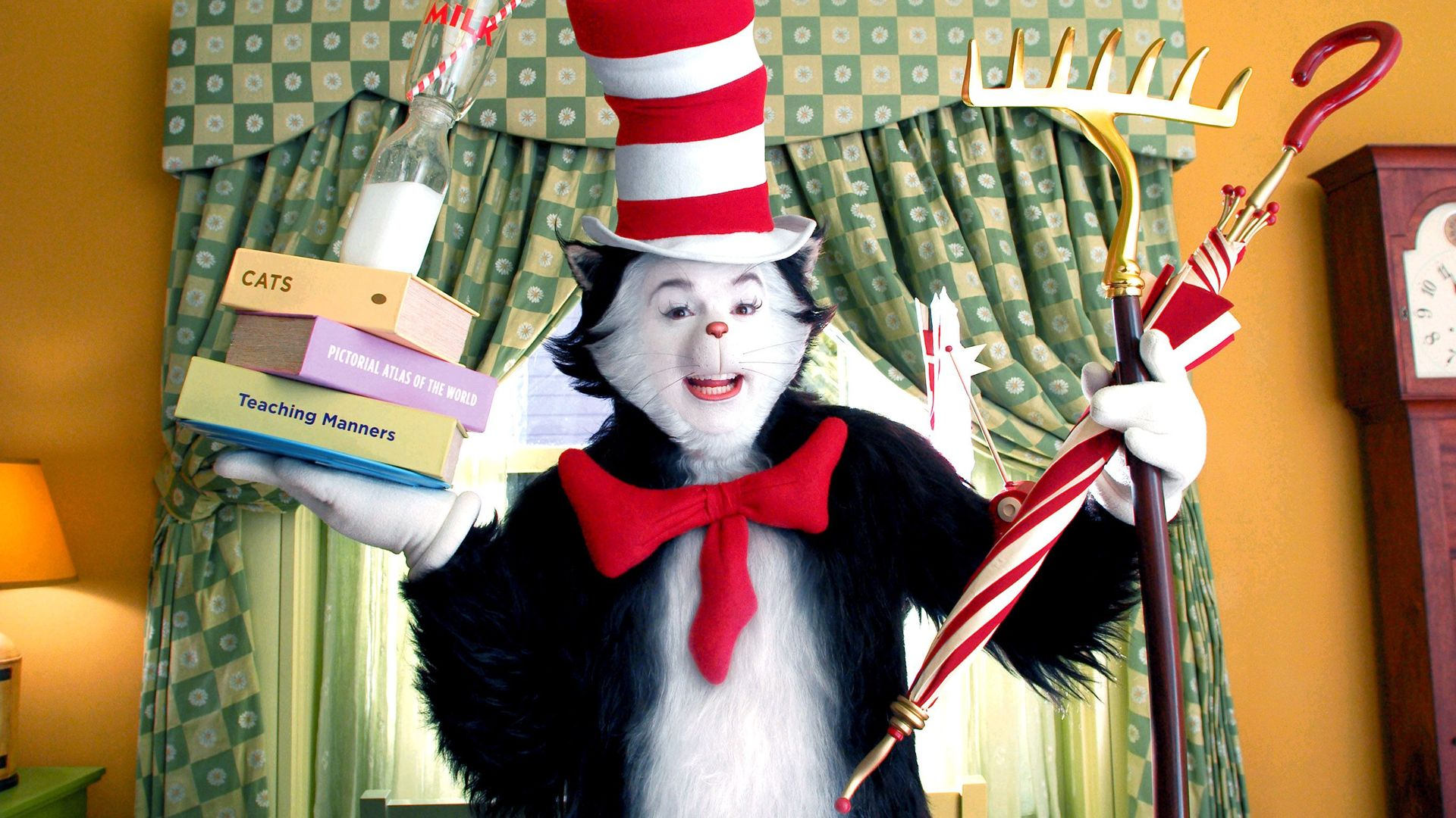 """Mike Myers in """"The Cat in the Hat."""""""