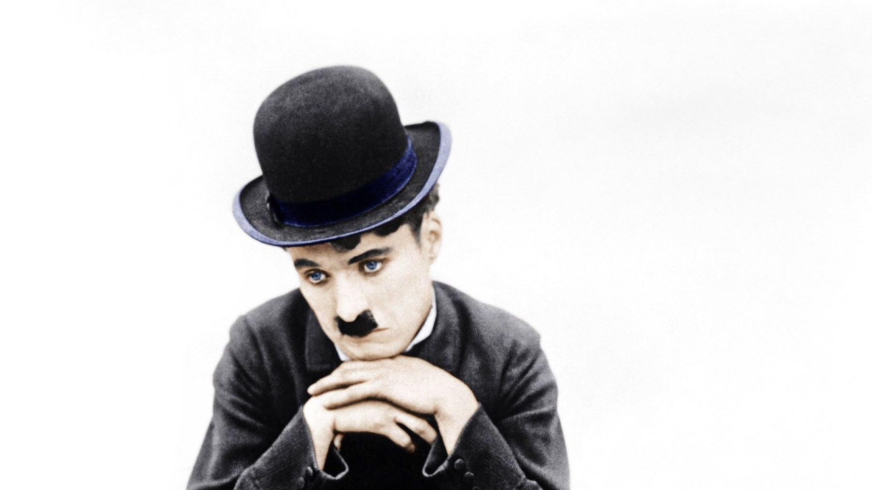 """Charlie Chaplin in """"The Tramp."""""""