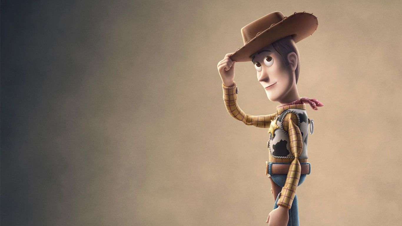"""Woody (voice: Tom Hanks) in key art for """"Toy Story 4."""""""