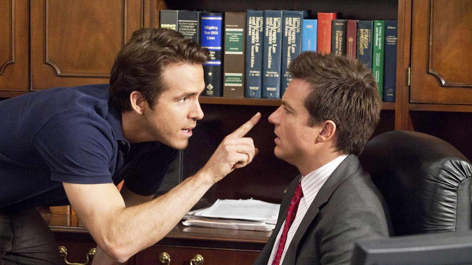 "Ryan Reynolds, Jason Bateman in ""The Change-Up."""