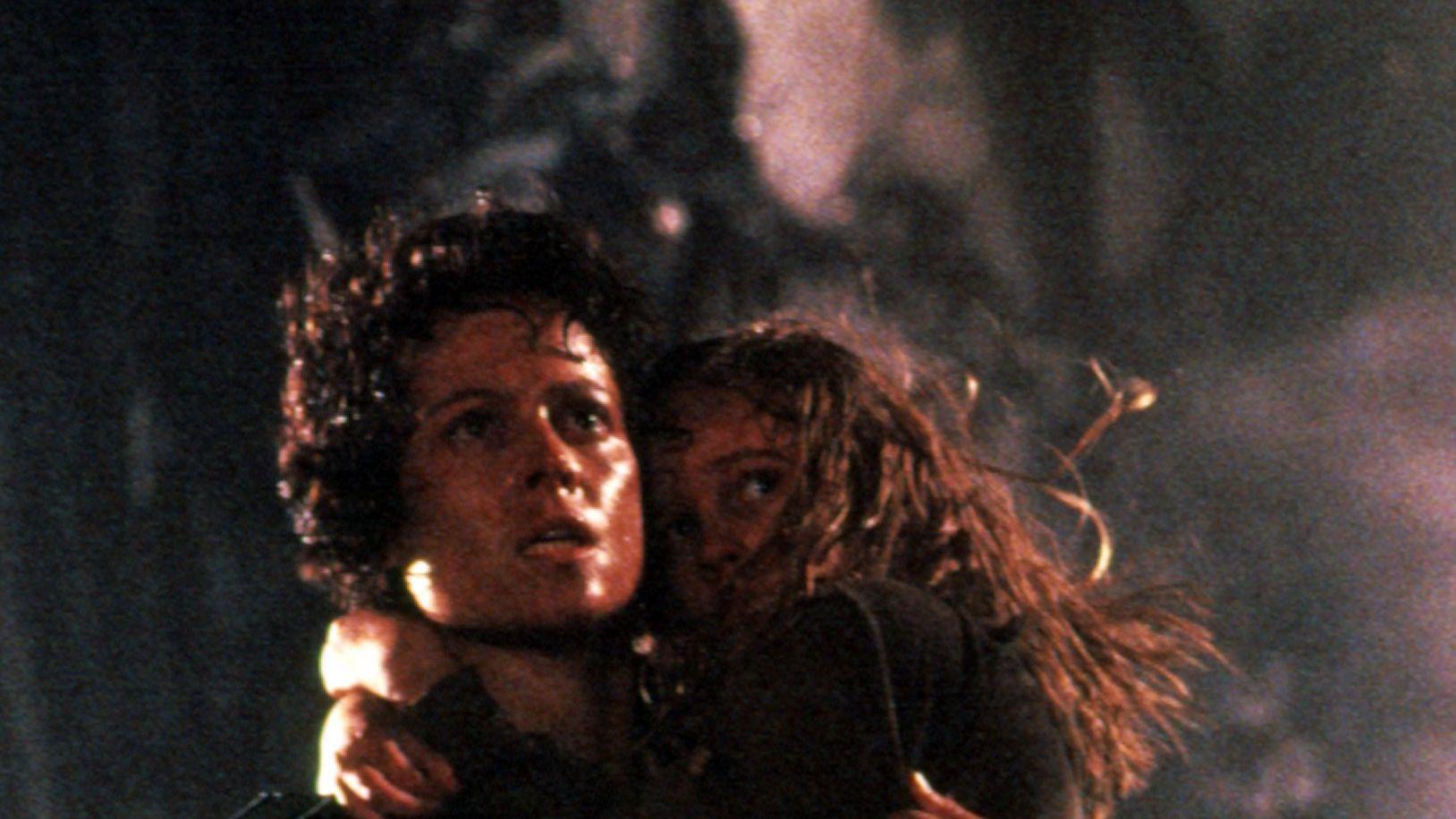 """Ellen Ripley (Sigourney Weaver) in """"Aliens."""""""