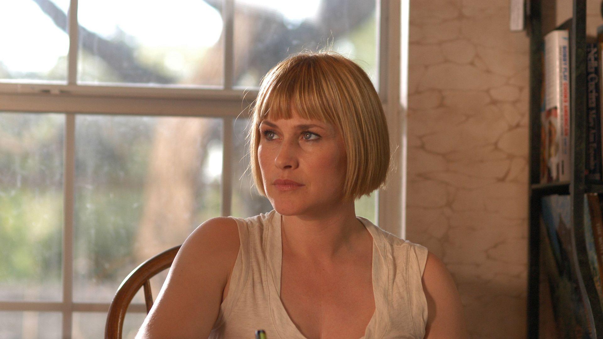 "Joy Newsome (Patricia Arquette) in ""Boyhood."""