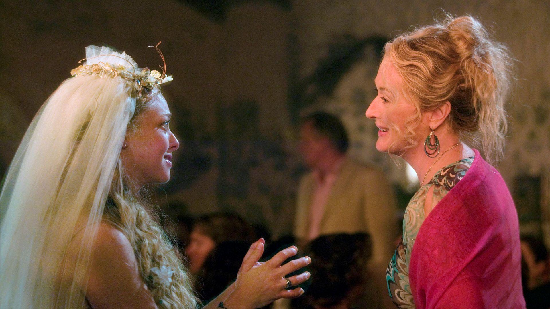"Donna Sheridan (Meryl Streep) in ""Mamma Mia!"""