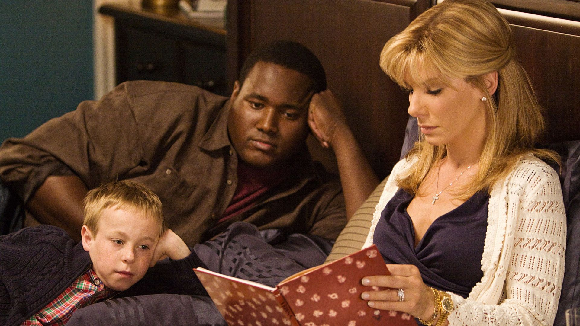 """Leigh Anne Tuohy (Sandra Bullock) in """"The Blind Side."""""""