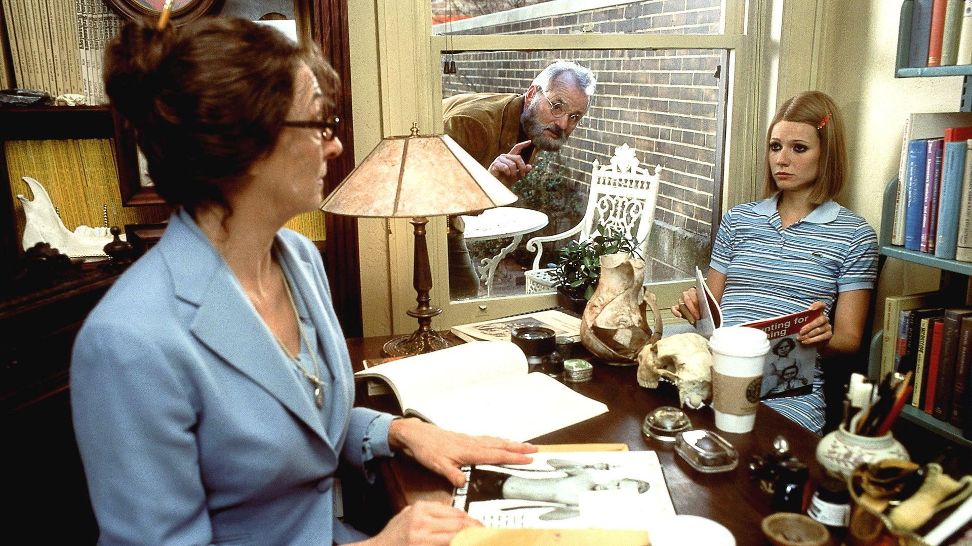 "Etheline Tenenbaum (Anjelica Huston) in  ""The Royal Tenenbaums."""