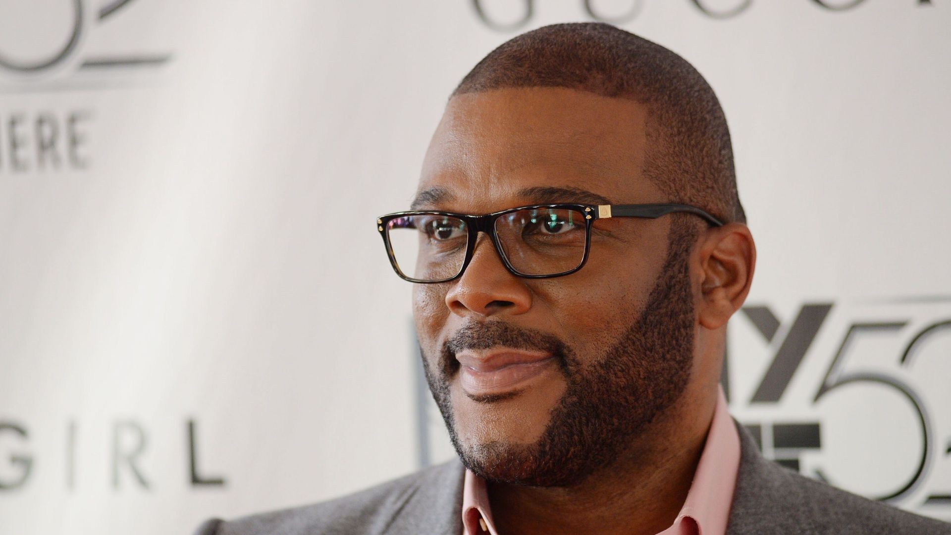 """Tyler Perry at the """"Gone Girl"""" premiere."""