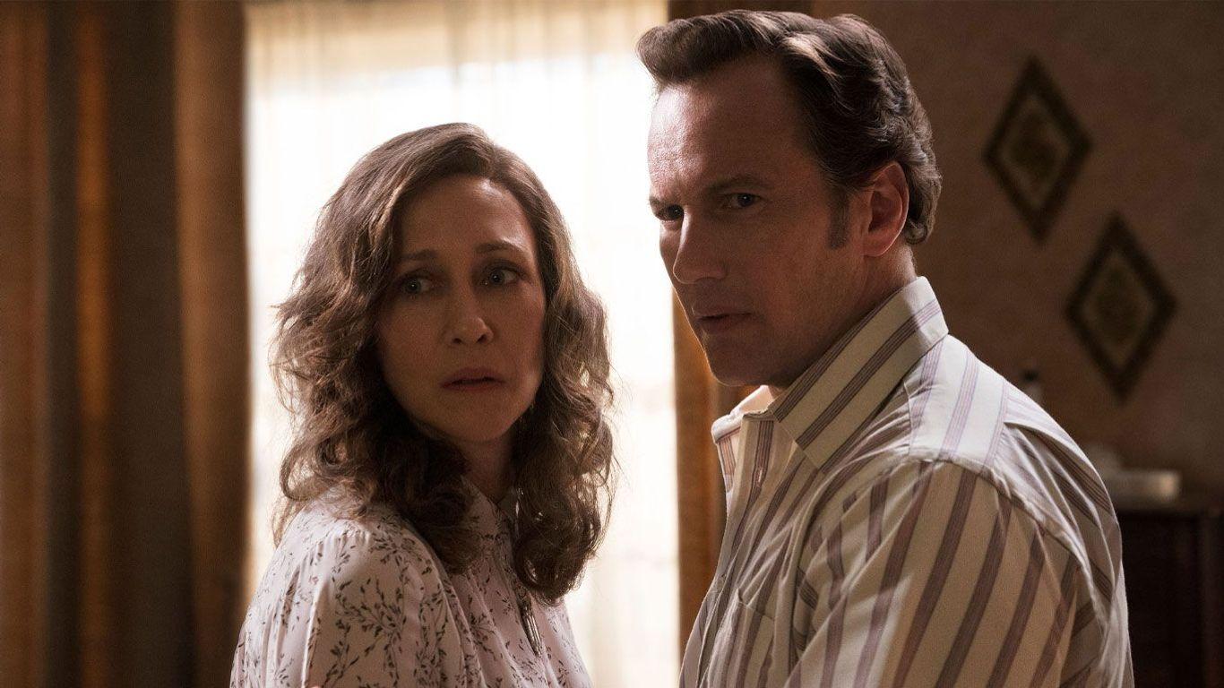 "Box Office Winner - Vera Farmiga and Patrick Wilson in ""The Conjuring 3."""