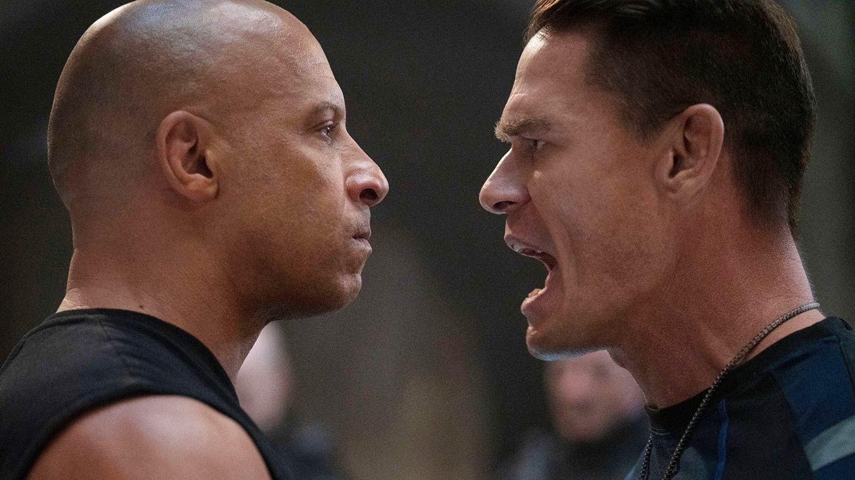 """Vin Diesel and John Cena in """"F9."""""""