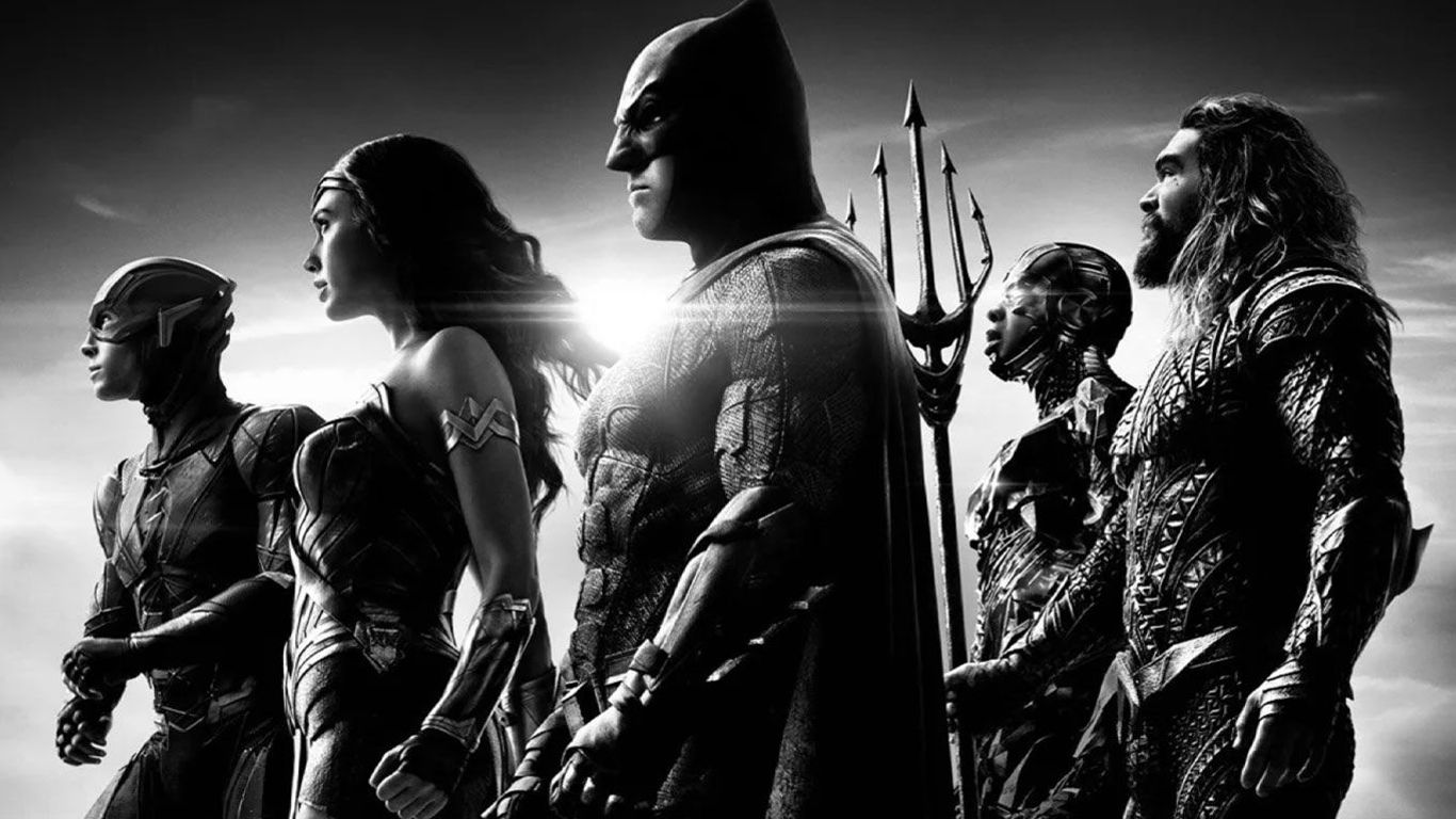 """Poster art from """"Zack Snyder's Justice League."""""""