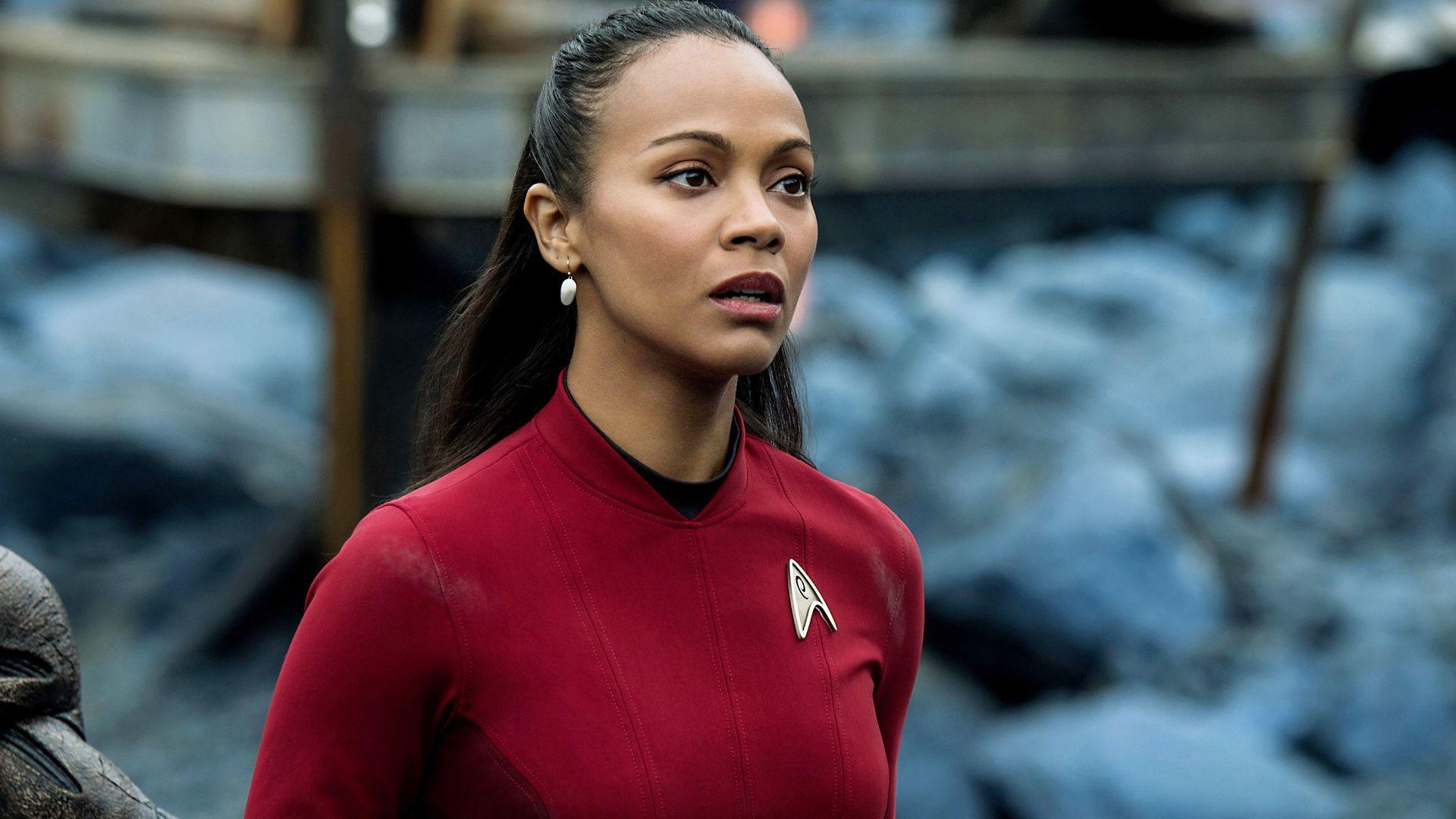 """Zoe Saldana in """"Star Trek Beyond."""""""